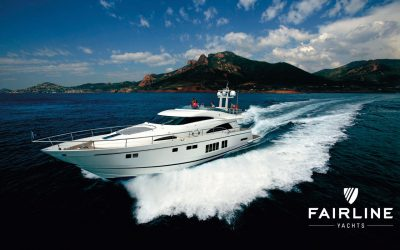 Fairline takes industry lead by installing Hypro Marine's latest steering system