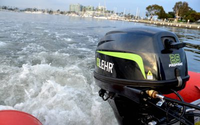 Hypro Marine to distribute world's first propane outboard
