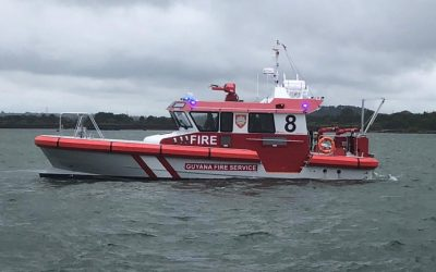First-In-Class High Performance Fire Fighting Vessel