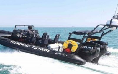 Ribcraft deliver Kent & Essex IFCA boat